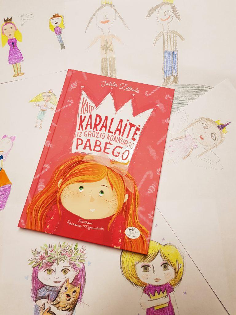 Gražiausios ir laimingiausios karalaitės rinkimai Vilniaus knygų mugėje 2019